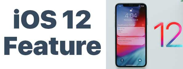 ios 12 feature